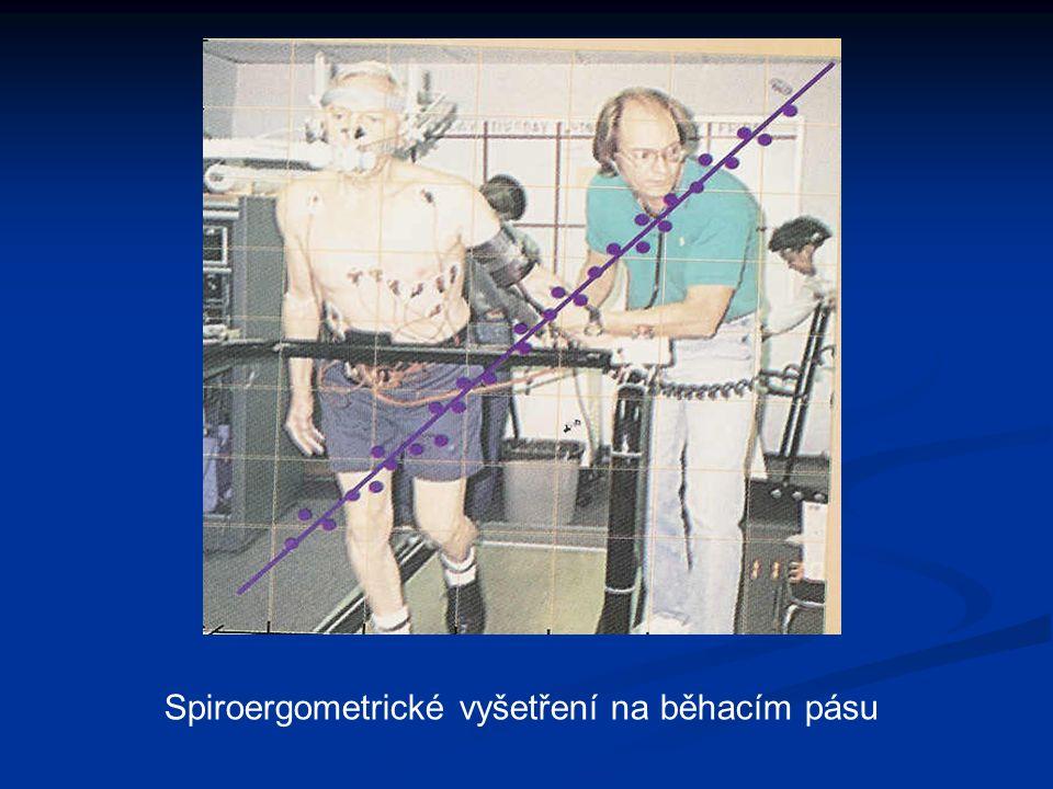 Spiroergometrické vyšetření na běhacím pásu