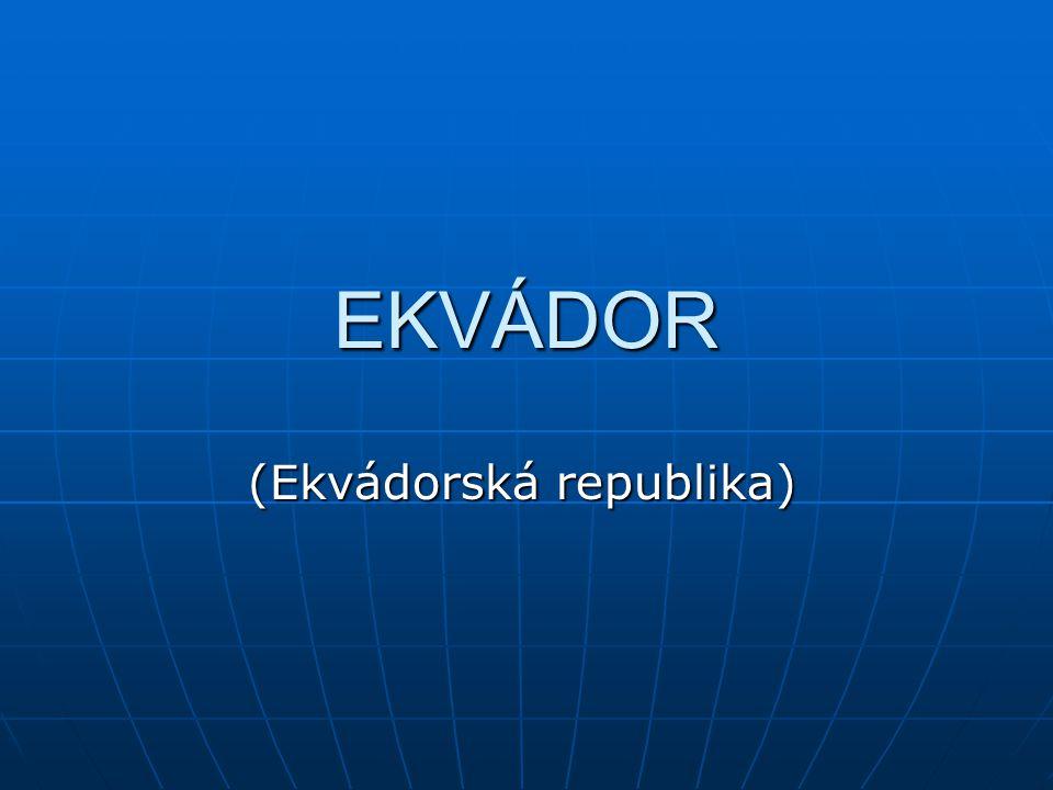 Co víte o Ekvádoru??.