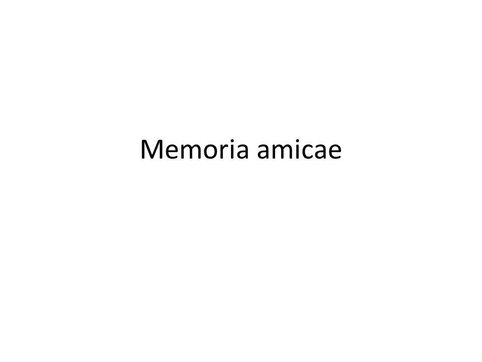 Memoria amicae