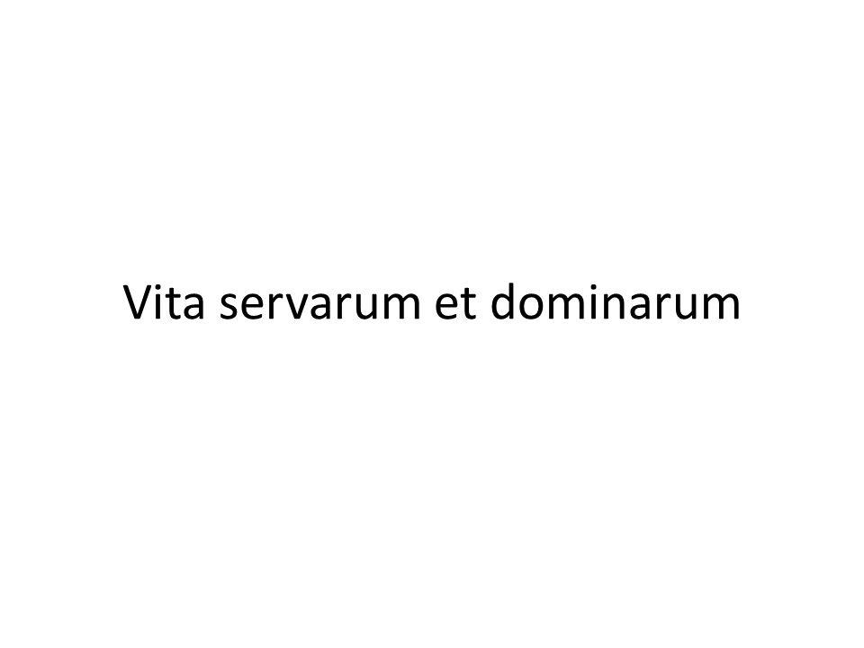 Ira dominarum