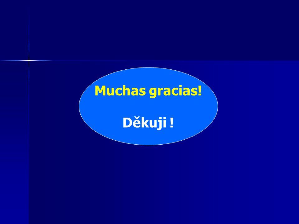 Muchas gracias! Děkuji !