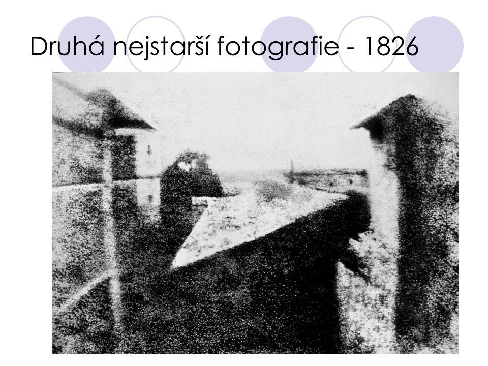Druhá nejstarší fotografie - 1826