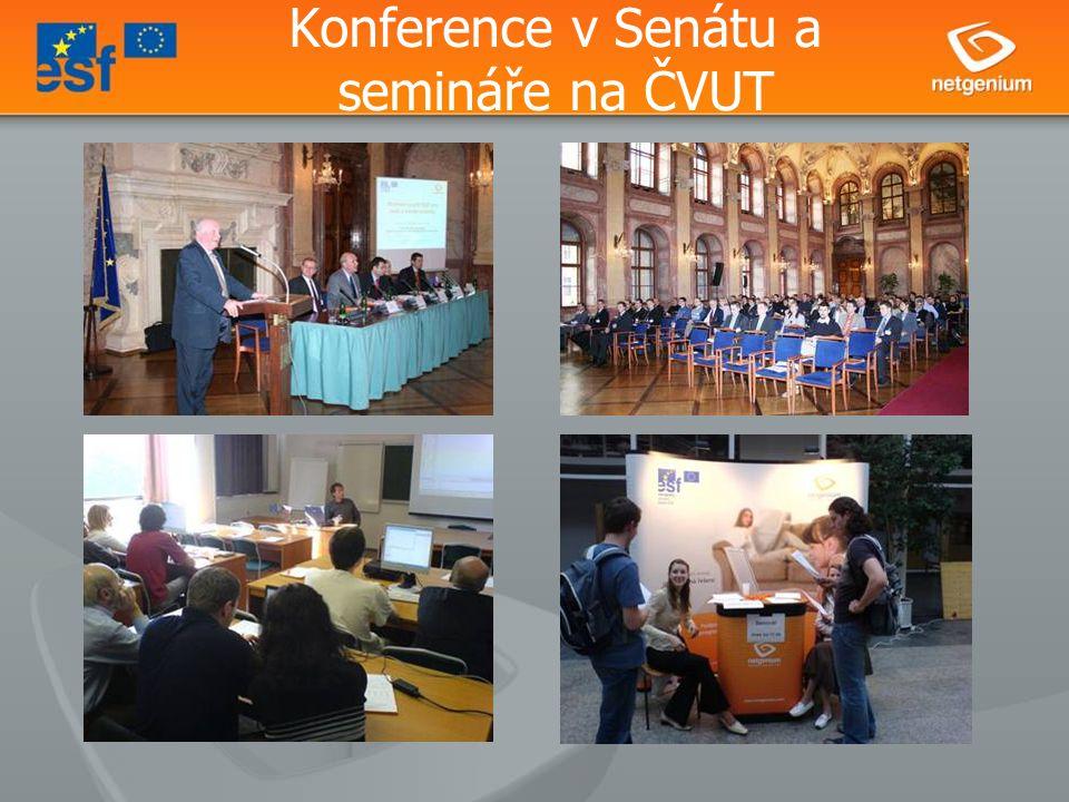Konference v Senátu a semináře na ČVUT