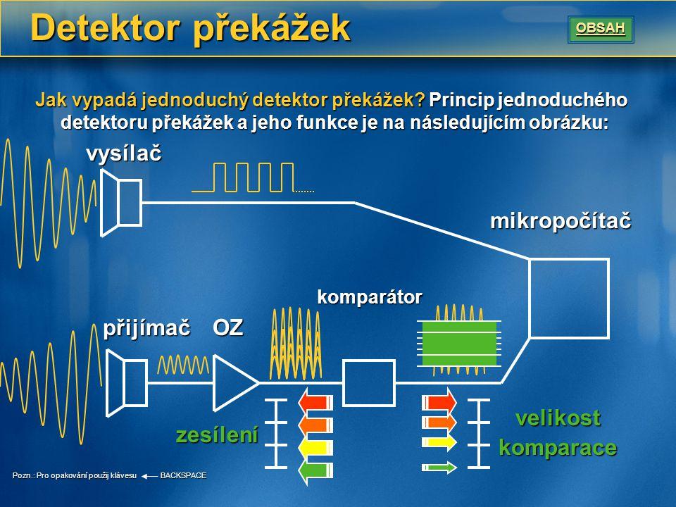 Vysílání signálu Srdcem, počátkem a koncem celého obvodu je mikropočítač.