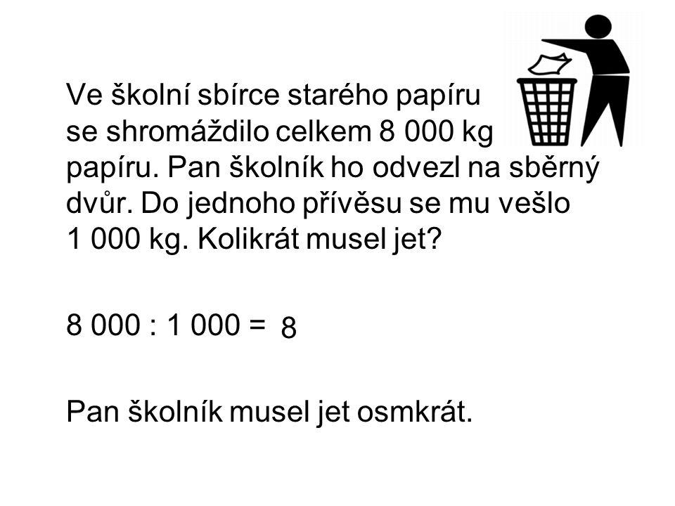 Co jsme se naučili.6 000 : 1 = U dělence i dělitele můžeme škrtnout stejný počet nul.