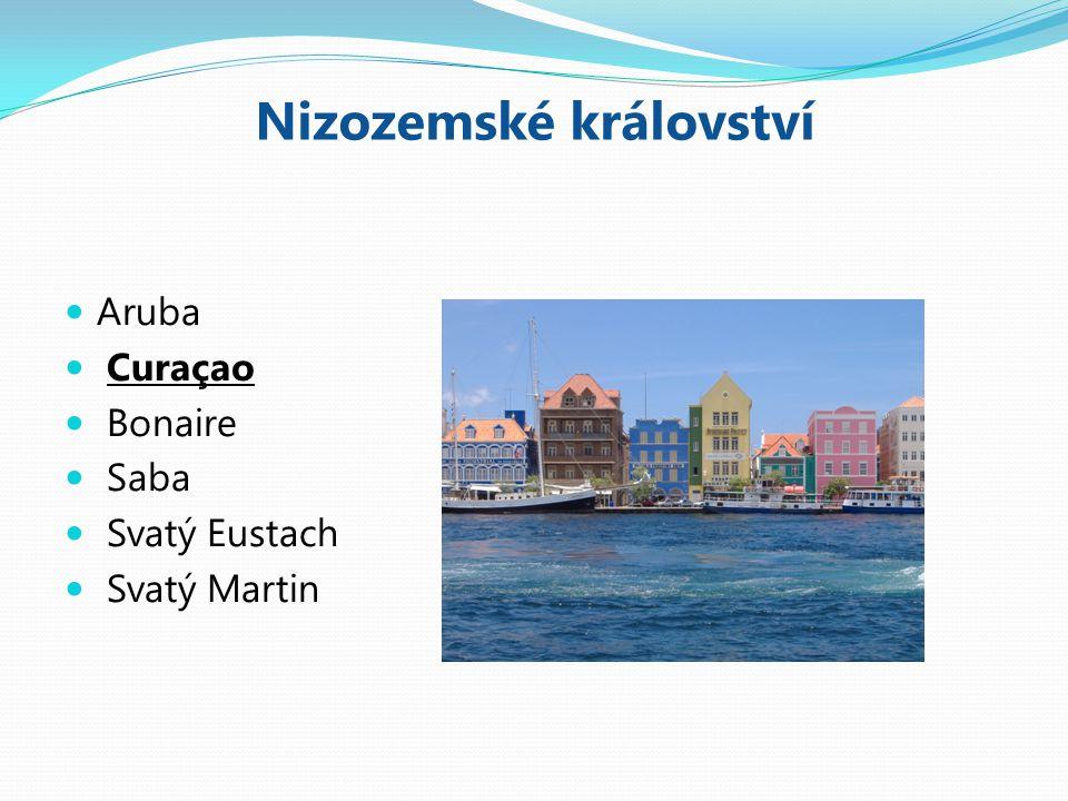 Nizozemské království Aruba Curaçao Bonaire Saba Svatý Eustach Svatý Martin