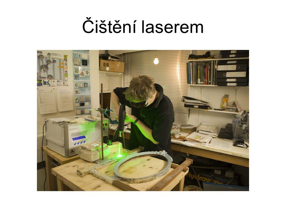 Čištění laserem