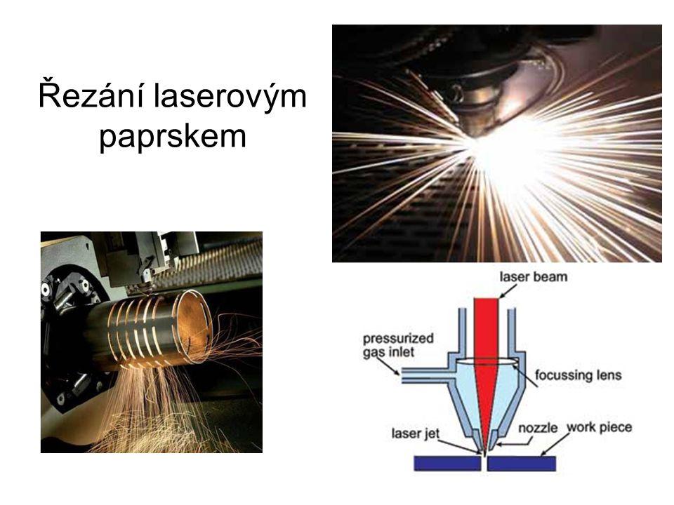 Řezání laserovým paprskem