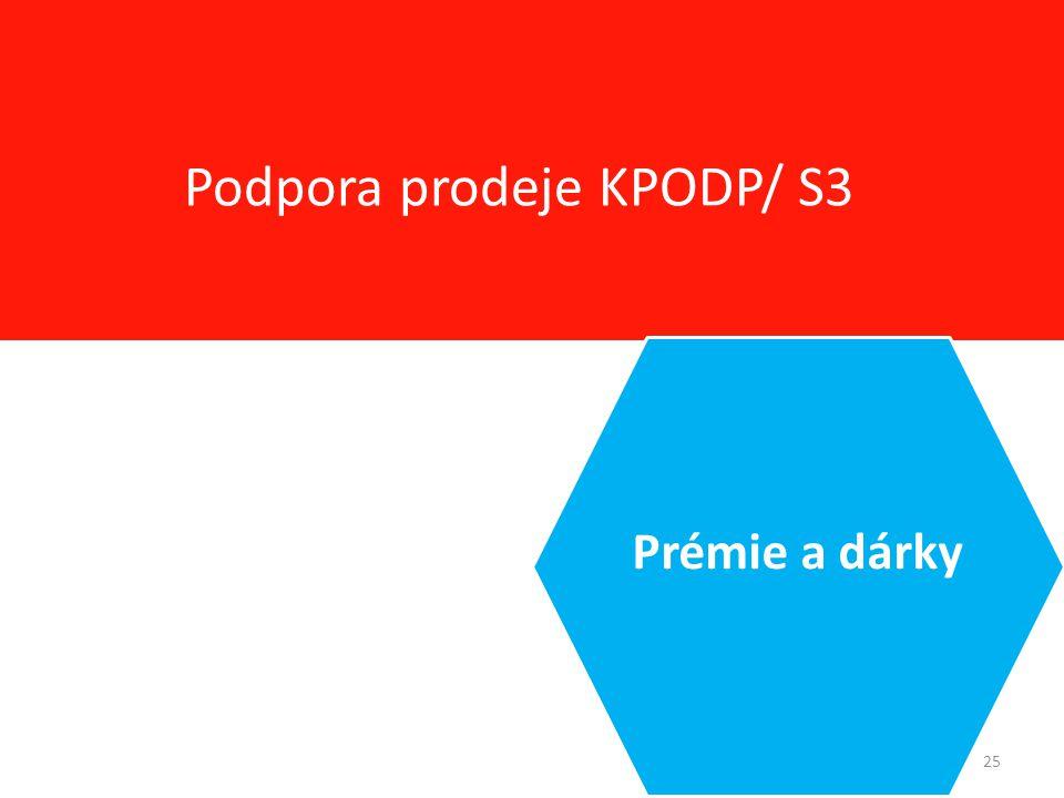 25 Podpora prodeje KPODP/ S3 Prémie a dárky