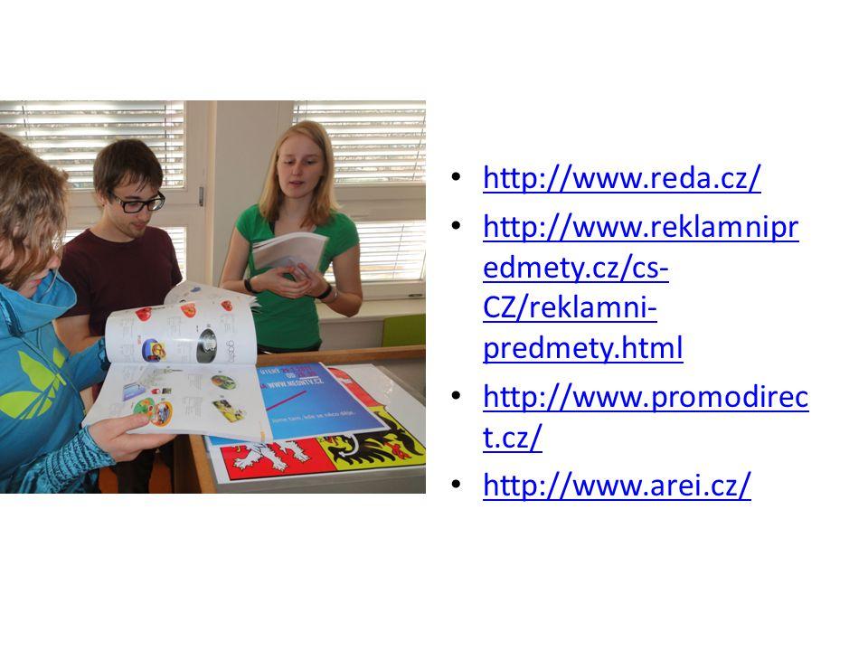 http://www.reda.cz/ http://www.reklamnipr edmety.cz/cs- CZ/reklamni- predmety.html http://www.reklamnipr edmety.cz/cs- CZ/reklamni- predmety.html http