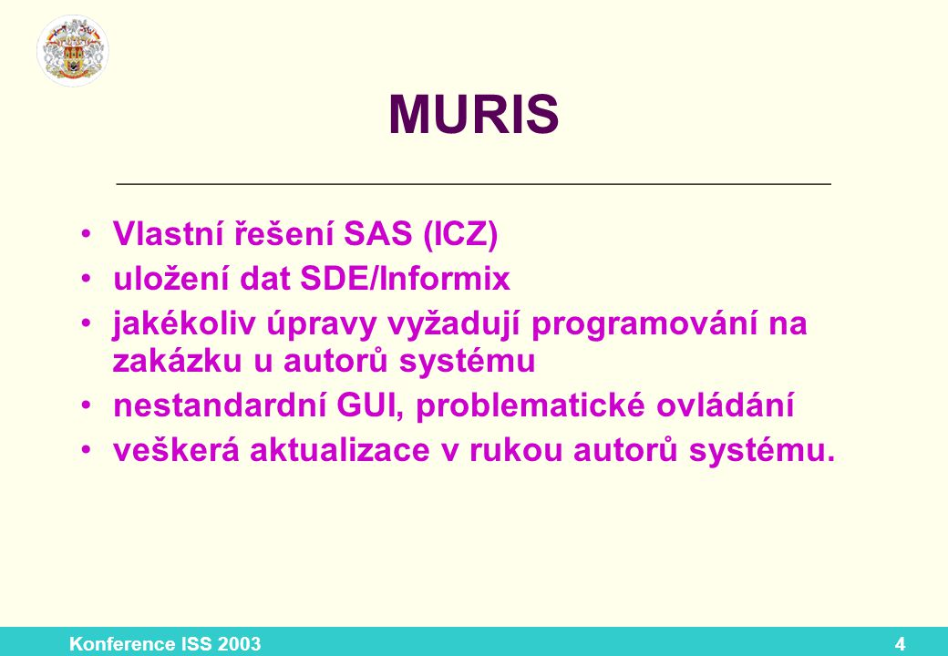 Konference ISS 200325 Základní funkce – pokr.