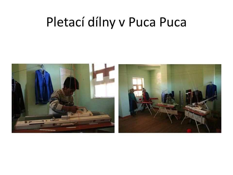 Pletací dílny v Puca Puca