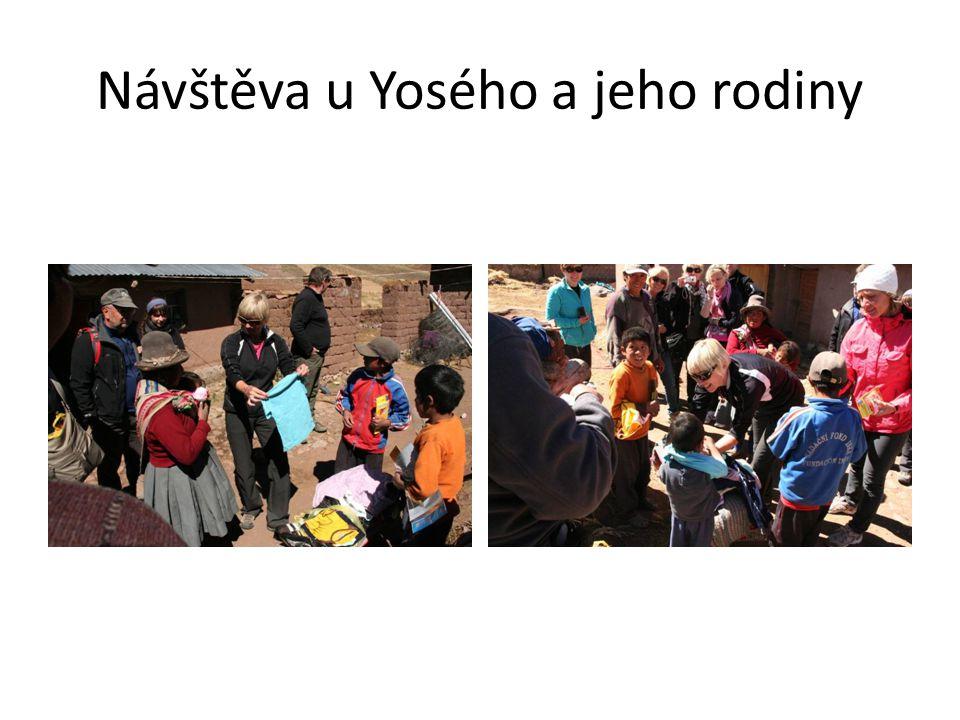 Návštěva u Yosého a jeho rodiny