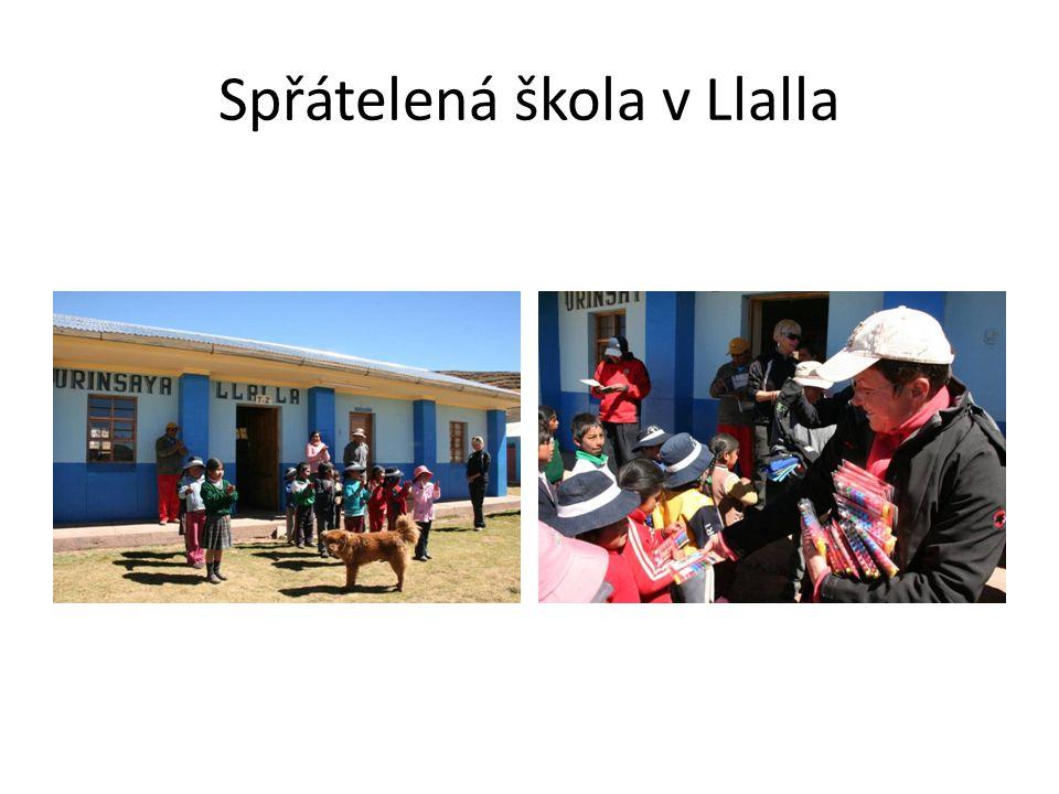 Spřátelená škola v Llalla