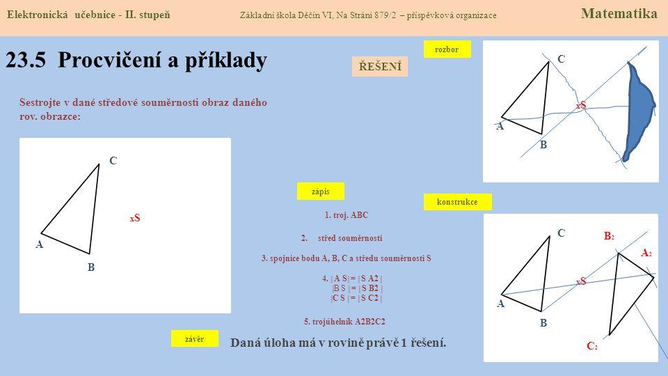 23.5 Procvičení a příklady Elektronická učebnice - II.