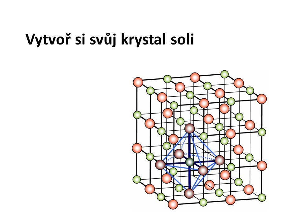 Vytvoř si svůj krystal soli