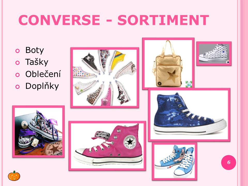CONVERSE - SORTIMENT Boty Tašky Oblečení Doplňky 6