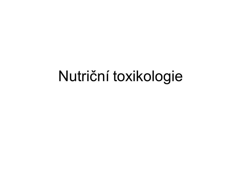 Nutriční toxikologie