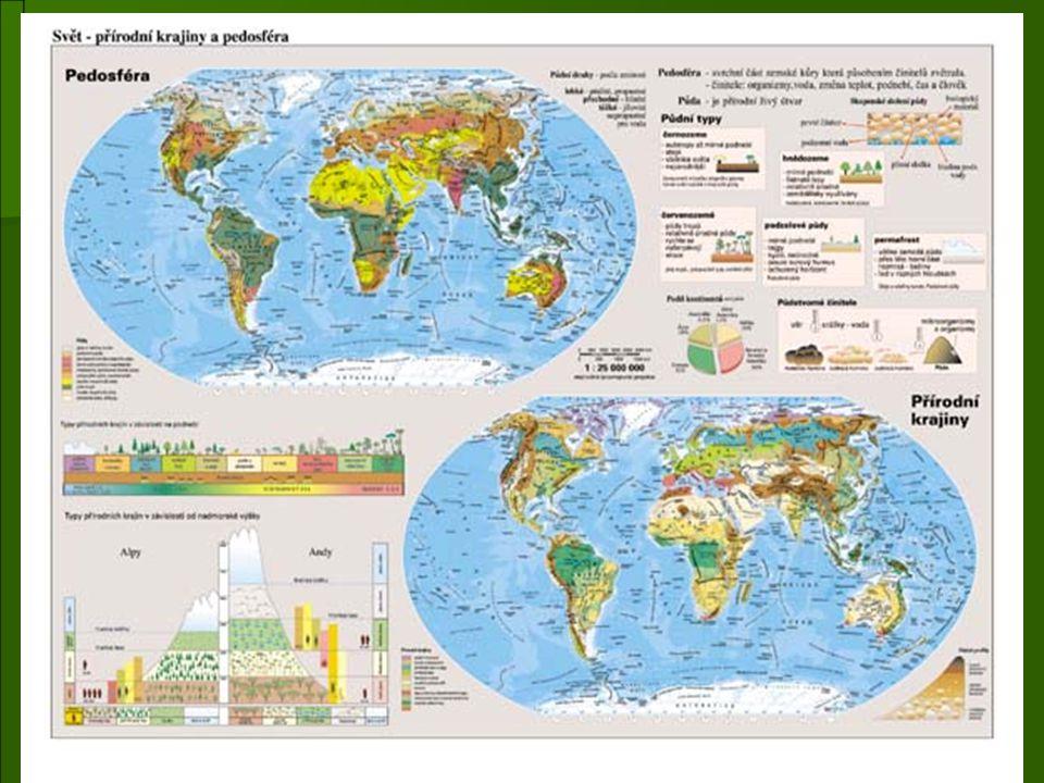 Svrchní část zemské kůry je rozrušována zvětráváním (viz výše).