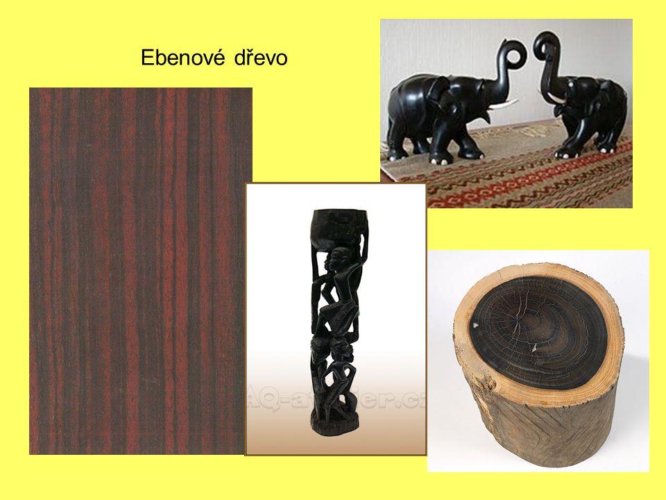 Ebenové dřevo