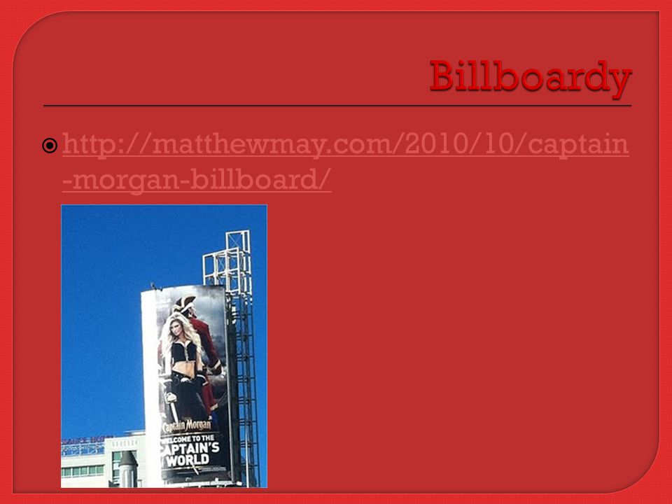  http://matthewmay.com/2010/10/captain -morgan-billboard/ http://matthewmay.com/2010/10/captain -morgan-billboard/