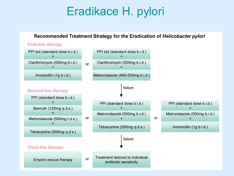 Eradikace H. pylori