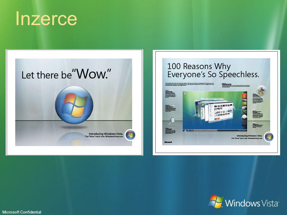 Microsoft Confidential Inzerce