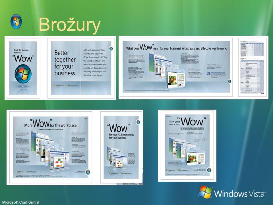 Microsoft Confidential Brožury