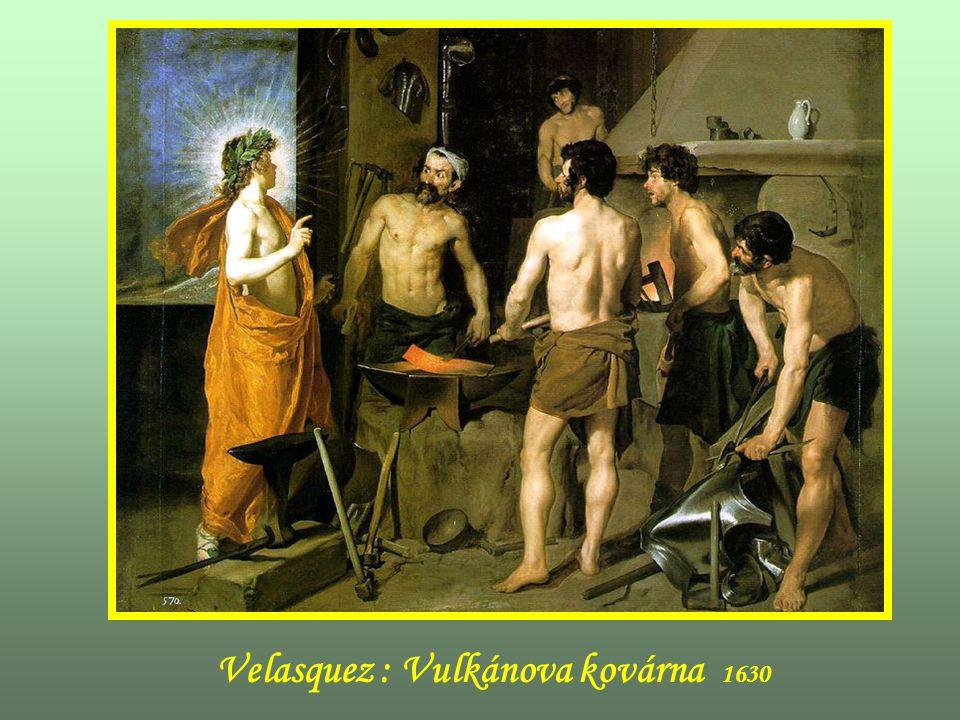 Velazquez : Bacchus 1629