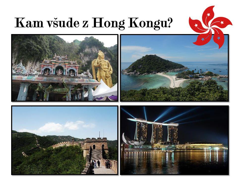 Kam všude z Hong Kongu?