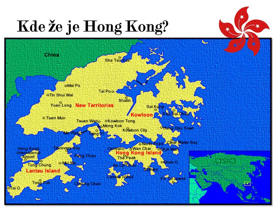 Pro č do Hong Kongu.