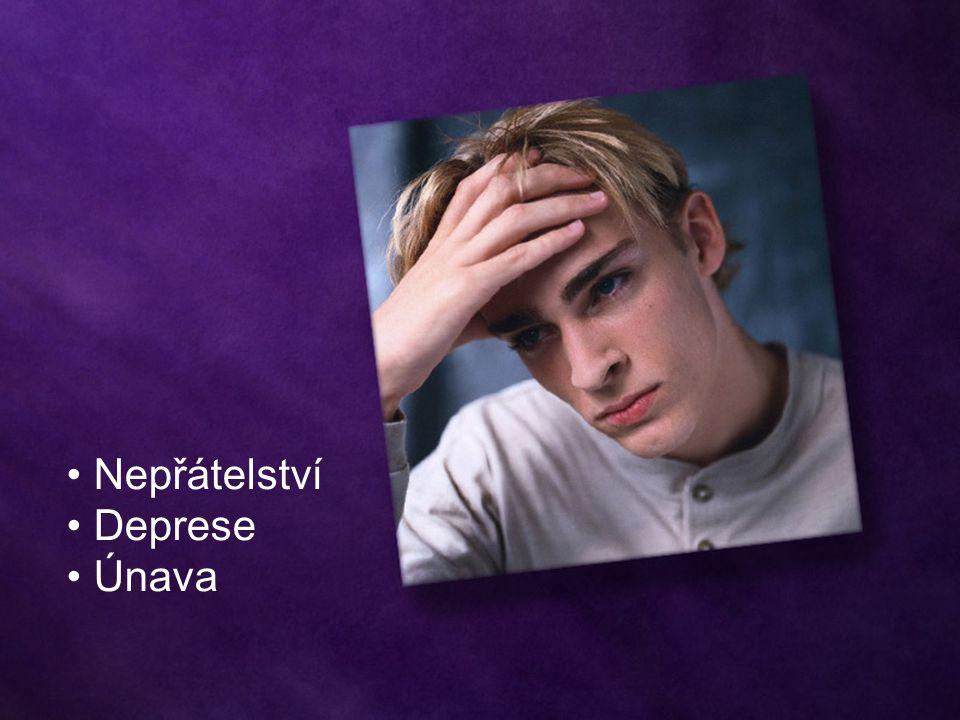 Nepřátelství Deprese Únava