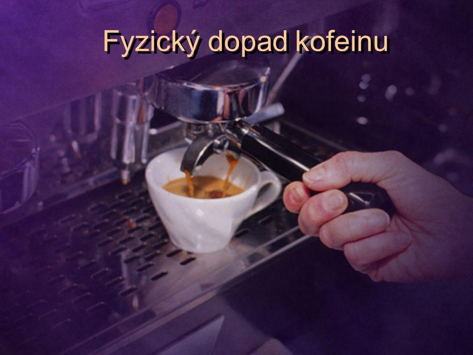 Fyzický dopad kofeinu