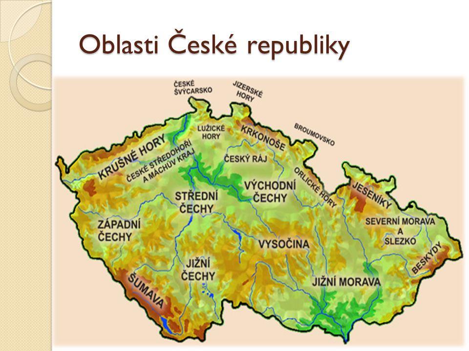 Oblasti České republiky