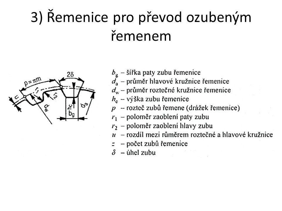 Příklad označení: VĚNEC ŘEMENICE 270 – B – 2 ČSN 02 3180,