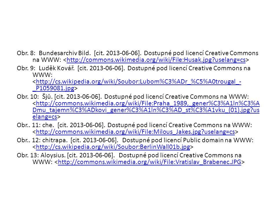 Obr. 8: Bundesarchiv Bild. [cit. 2013-06-06]. Dostupné pod licencí Creative Commons na WWW: http://commons.wikimedia.org/wiki/File:Husak.jpg?uselang=c
