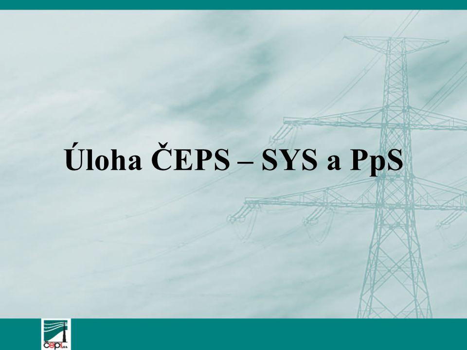 Úloha ČEPS – SYS a PpS
