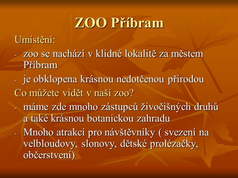 Zoologická zahrada Příbram