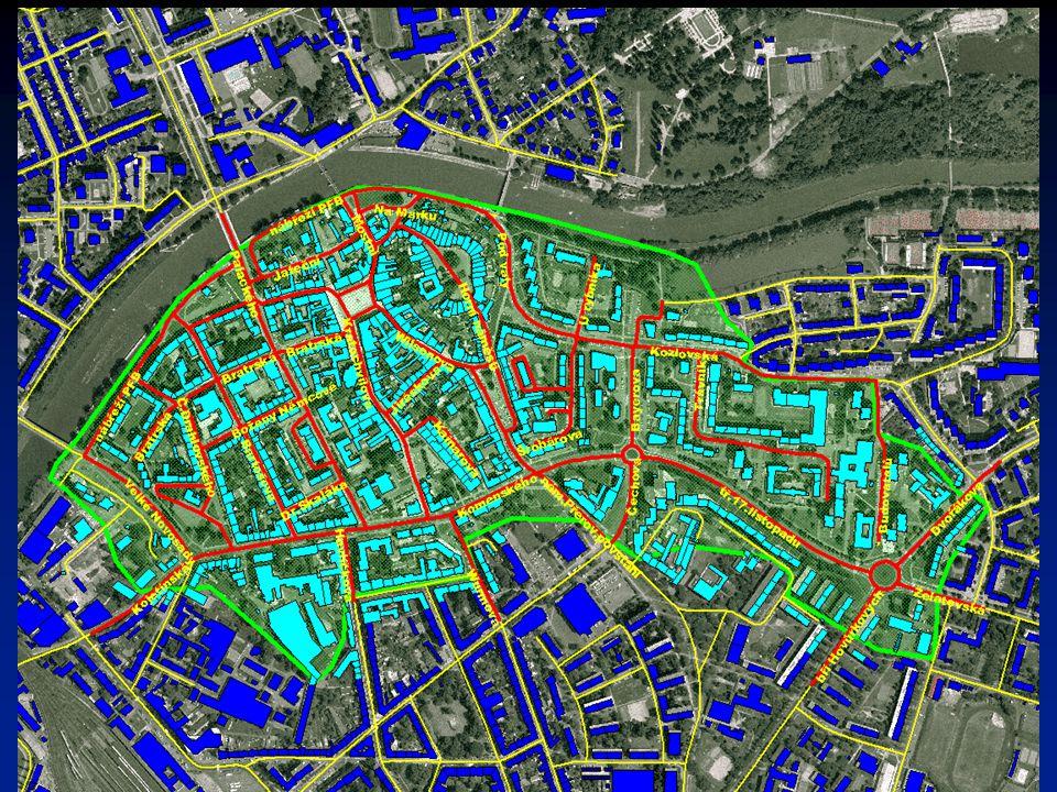 Aktuálně řešené území – Přerov-Město