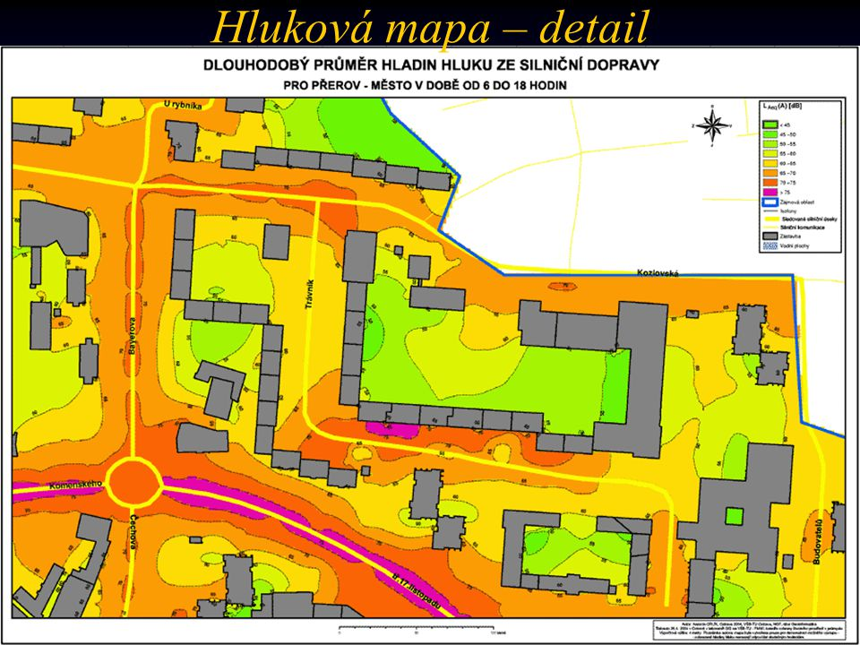 (…coming soon) Hluková mapa – detail