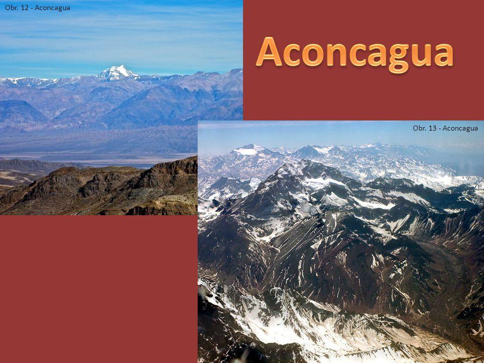 Obr. 12 - Aconcagua Obr. 13 - Aconcagua
