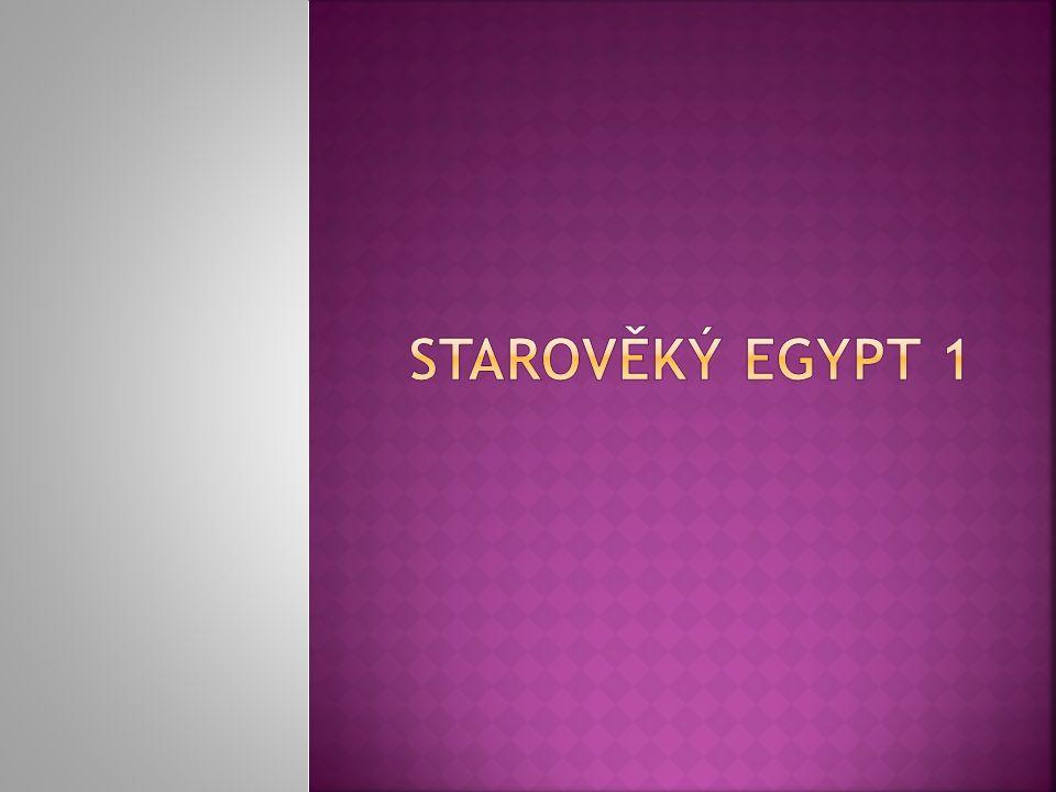 Na co si vzpomeneš, když se řekne EGYPT?
