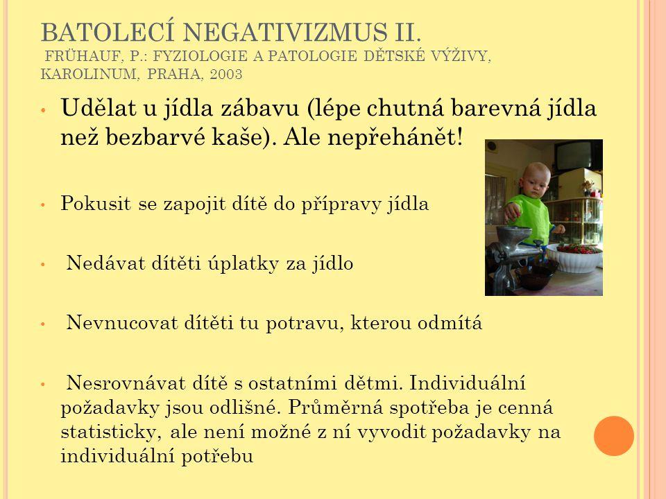 BATOLECÍ NEGATIVIZMUS II.
