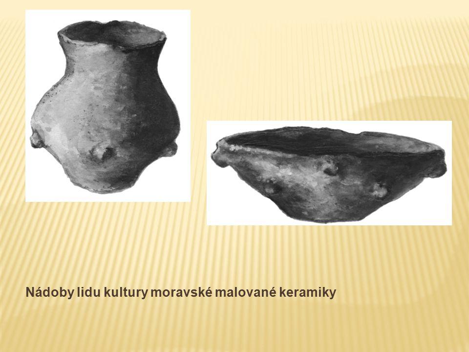 Nádoby lidu kultury moravské malované keramiky