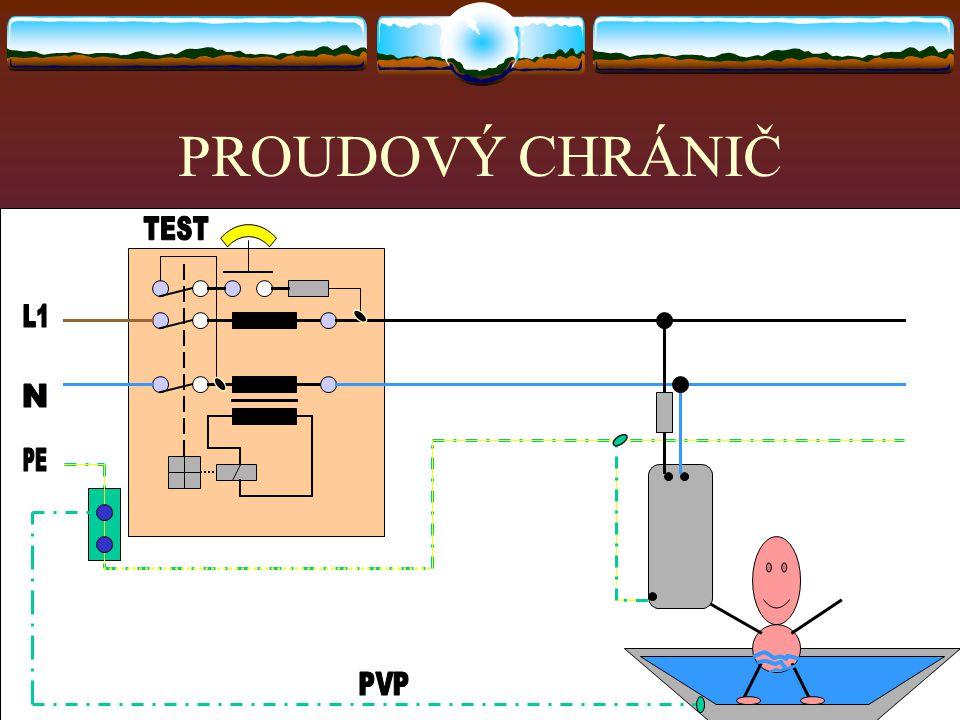 Ochrana použitím proudového chrániče