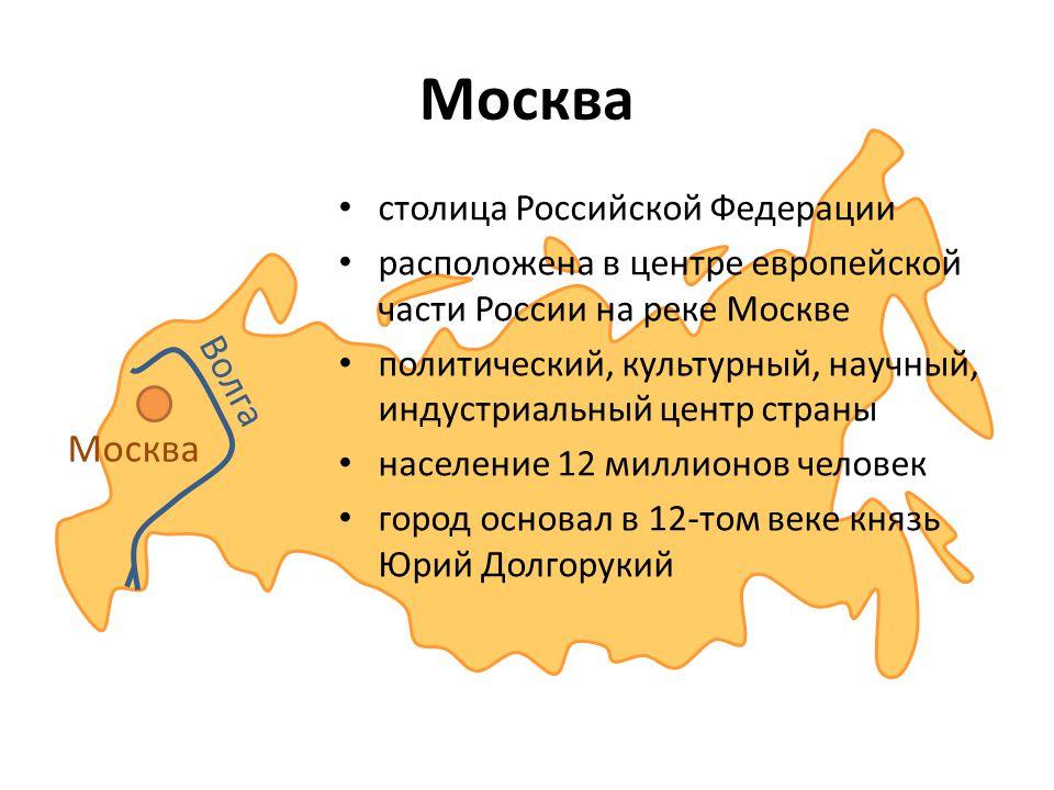 Волга Москва столица Российской Федерации расположена в центре европейской части России на реке Москве политический, культурный, научный, индустриальн