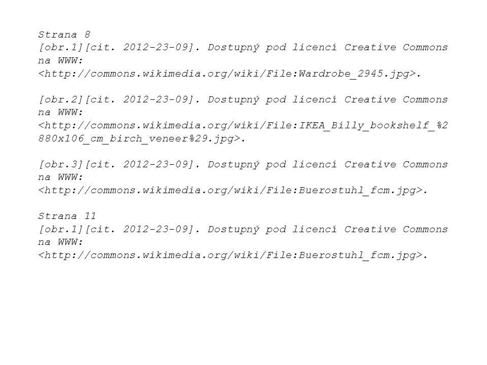 Strana 8 [obr.1][cit. 2012-23-09]. Dostupný pod licencí Creative Commons na WWW:. [obr.2][cit. 2012-23-09]. Dostupný pod licencí Creative Commons na W