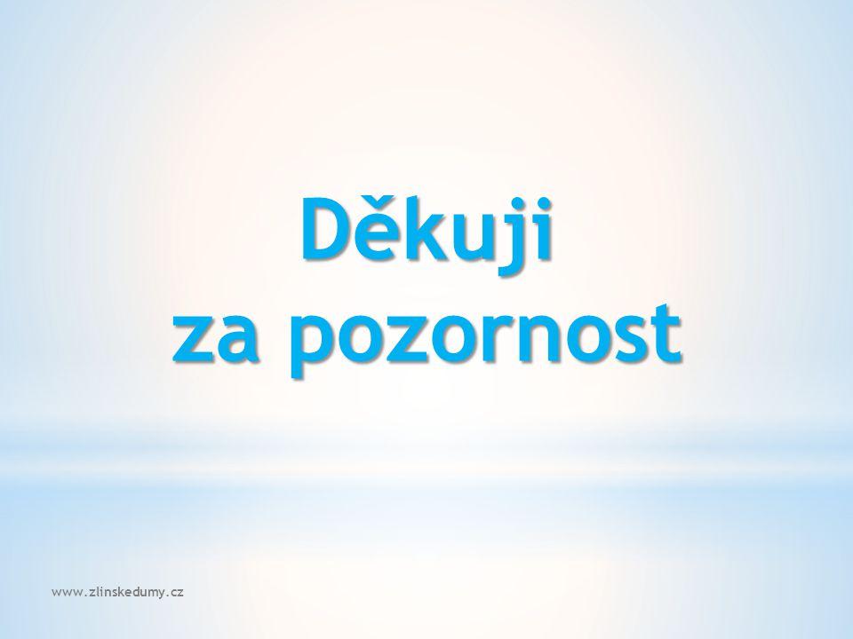 www.zlinskedumy.cz Děkuji za pozornost