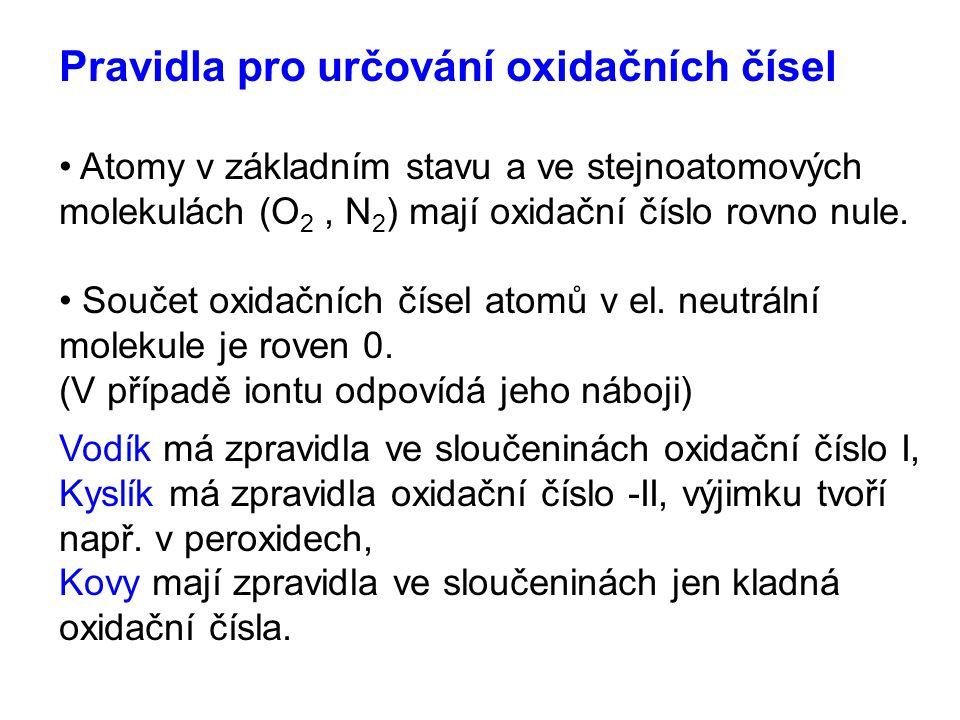 Valenční koncovky Oxidační kationty číslo (oxidy)aniontykyseliny I -ný -nan -ná II -natý -natan -natá III -itý -itan -itá IV -ičitý -ičitan -ičitá V -ičný, -ičnan, -ičná, -ečný -ečnan -ečná VI -ový -an -ová VII -istý -istan -istá VIII -ičelý -ičelan -ičelá záporné-id
