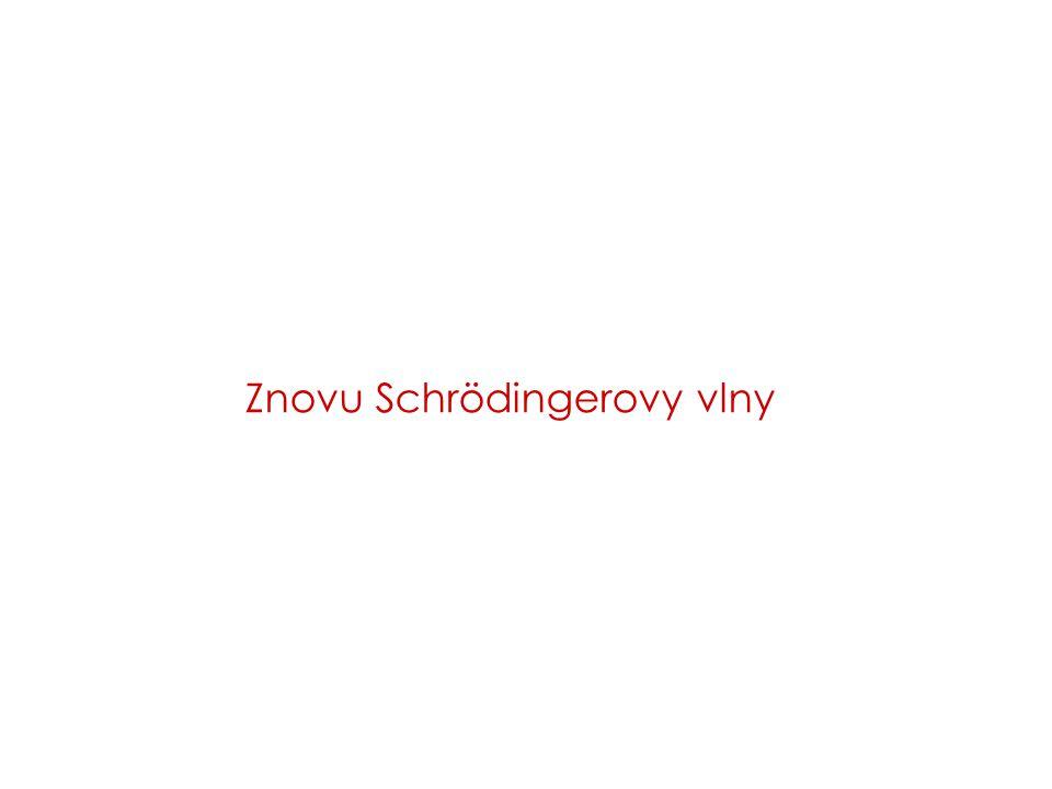 5 K06 Schrödingerovy vlny – kvasiklasická aproximace Částice ve vnějším poli: Schrödingerova rovnice stacionární řešení velikost lokálního vlnového vektoru vln.